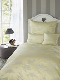 Dětské povlečení do velké postele Bauer - WALDFREUNDE - žluté