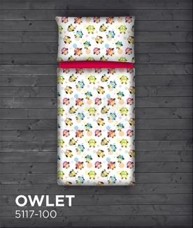 Satén - bavlněný OWLET