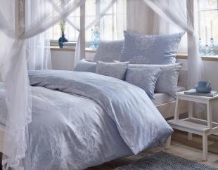 Luxusní damaškové povlečení FINJA - modré