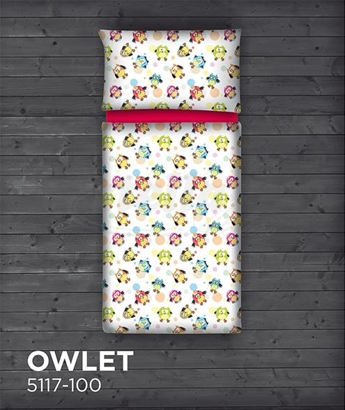 Saténové povlečení OWLET