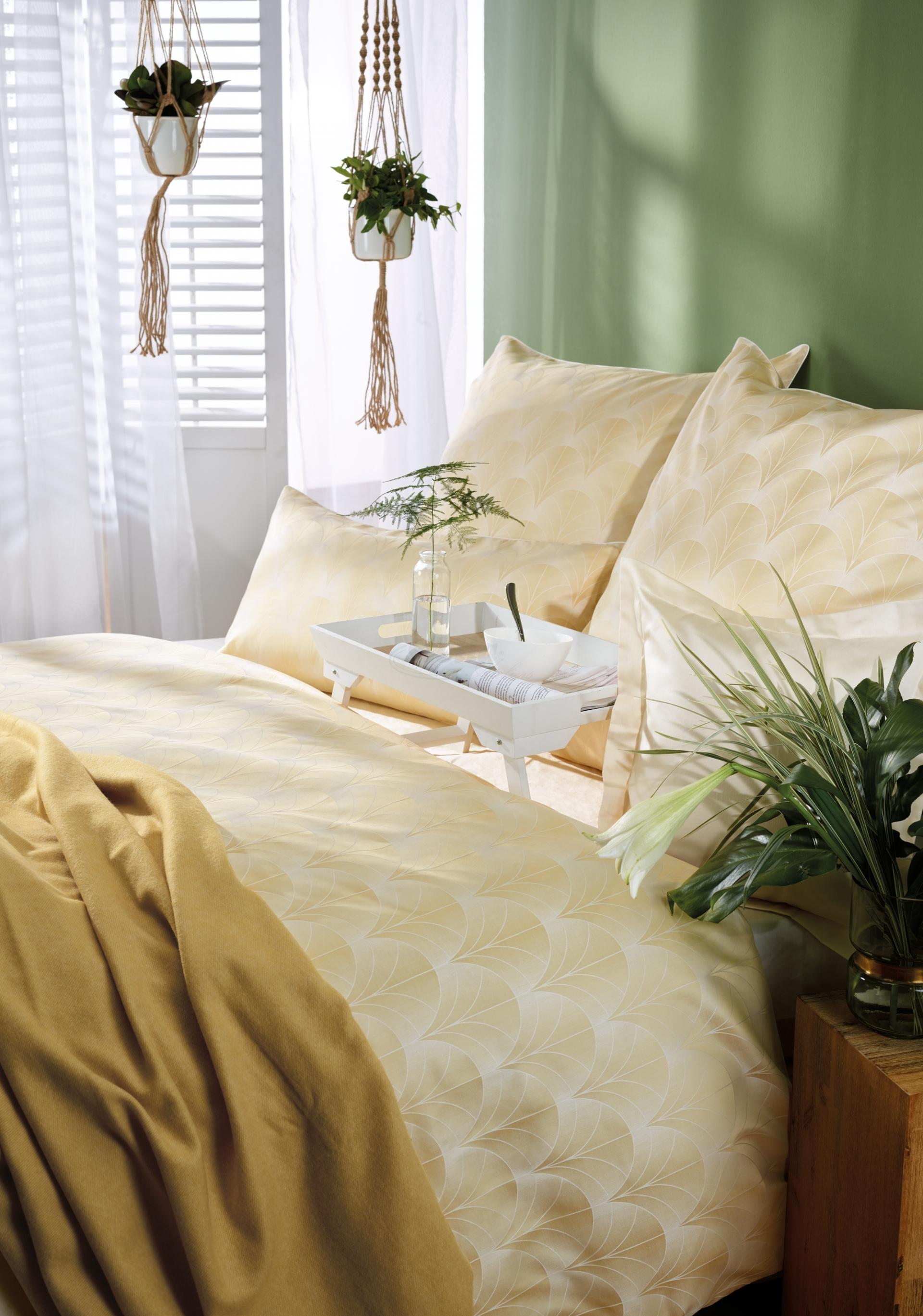 Luxusní damaškové povlečení TOULOUSE - zlaté